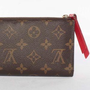 Authentic Louis Vuitton Monogram Adele Wallet